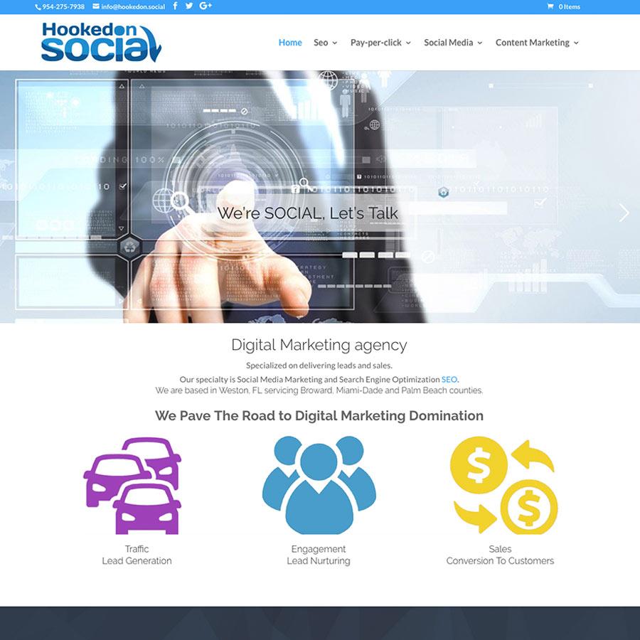 Hookedon social