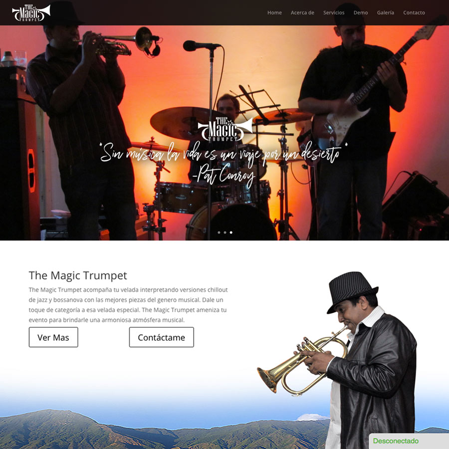 The Magic Trumpet Web